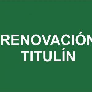 RENOVACION-TITULIN