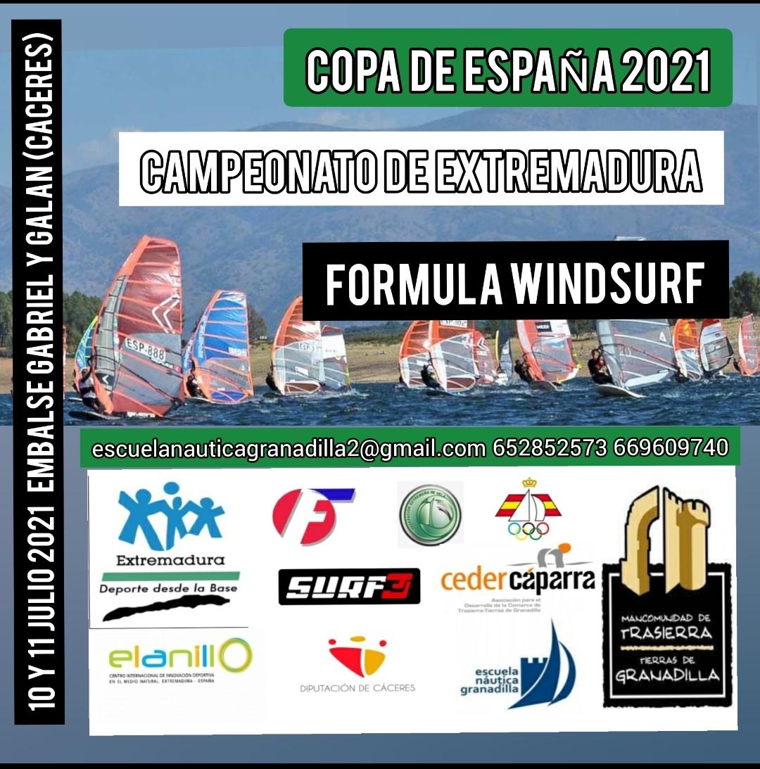 Campeonato de España de Fórmula Windsurf 2020 y Trofeo Diputación de Cáceres